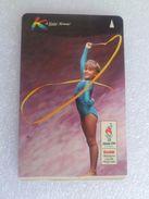 VINTAGE ! Singapore Phonecard -  Kodak 1996 Atlanta Olympic Games (#99) - Phonecards