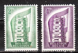 994/95**  Europa 1956 - Série Complète - MNH** - Vendu à 10% Du COB!!!! - Belgique
