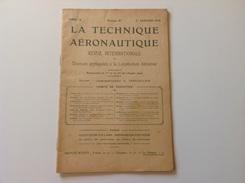 La Technique Aeronautique N°97 - 1 Janvier 1914 - Boeken, Tijdschriften, Stripverhalen