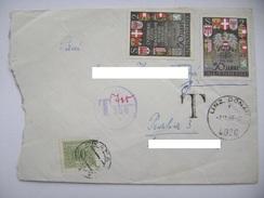 Austria Cover 1969: Linz - Praha - 2x 50 Jahre Republik Österreich 1918/1968 - Doplatne, Taxe 60 Hal. - 1945-.... 2nd Republic