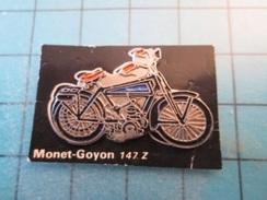 Pin1415b Pin's Pins / Beau Et Rare : MOTO 1895 MONET GOYON 147 Z  Marquage Au Dos : - ---  - - Motorbikes