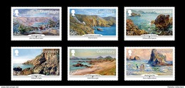 Guernsey - Postfris / MNH - Complete Set SEPAC, Kunstenaars Van Guernsey 2015 - Guernsey