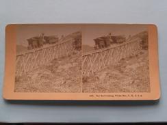 Sky Railroading, White Mts N.H. USA (4583) Stereo Photo B W KILBURN ( Voir Photo Pour Detail ) ! - Photos Stéréoscopiques