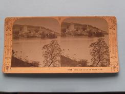 SPIEZ Sur Le LAC De THOUNE - J.A. (2149) Stereo Photo Suisse Et Savoie ( Voir Photo Pour Detail ) ! - Photos Stéréoscopiques