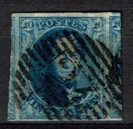 7  Obl  4M  Grand Voisin - 1851-1857 Medallones (6/8)