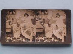 """ We'll Do That RAT Or DIE () Stereo Photo American Stereoscopic ( Voir Photo Pour Detail ) ! - Photos Stéréoscopiques"