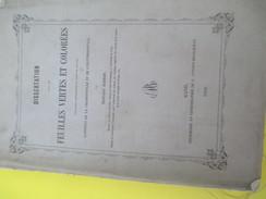 """Monographie//""""Feuilles Vertes Et Colorées""""/Rapport De La Chlorophylle Et L'Erythrophylle/Morren/LIEGE/GAND/1858    MDP64 - Historical Documents"""
