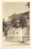 CPA MONTBELIARD / DOUBS / STATUE DE CUVIER - Montbéliard