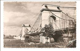 CPSM 94 Vitry . Le Pont Suspendu - Vitry Sur Seine