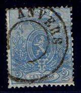 24Ab Obl  Aminci  Défauts  Beau De Face  135 - 1866-1867 Petit Lion