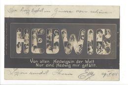 17782 -  Portraits De Femmes Hedwig Von Allen Hedwigs In Der Welt Nur Eine Hedwig Mir Gefällt - Femmes