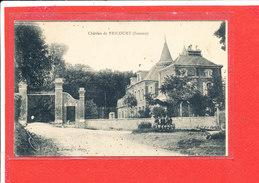 80 FRICOURT Cpa Le Chateau Avant Le Bombardement        124 Edit Lelong - France