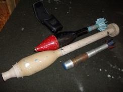 Lot De 3 Grenades à Blanc - Sammlerwaffen
