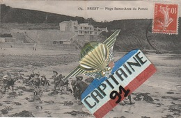 CPA BREST FINISTERE PLAGE SAINTE ANNE DU PORTZIC - Brest