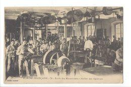 17784 -  Marine Française Ecole Des Mécaniciens Atelier Des Ajusteurs - Métiers