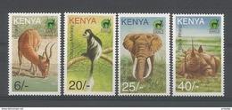 Kenya 1996 Fauna Y.T. 673/676 ** - Kenya (1963-...)