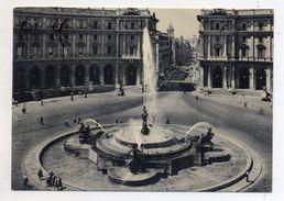 Roma - Piazza Esedra E Fontana Delle Naiadi - Viaggiata Nel 1958 - (FDC5855) - Places & Squares