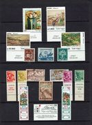 ISRAEL...EARLY SELECTION...liquidation...many MNH With Tabs - Stamps