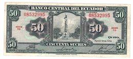 Ecuador 50 Sucres 1976, XF/Aunc. - Ecuador