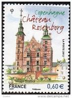 France N° 4639 ** Capitales Européennes - Copenhague - Le Château Rosenborg - Unused Stamps