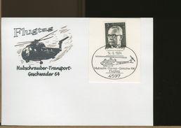 GERMANY - AHLHORN - HUBSCHRAUBER TRANSPORT - GESCHWADER 64 - Elicotteri