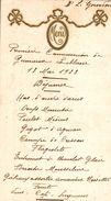 MENU DU 13 MAI 1923  ME  GOURNON - Menus