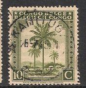 CONGO BELGE 249 KAMITUGA - 1923-44: Usati
