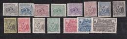 Guyane N°49 à 65** Sans Les Ns 53 Et 61 - French Guiana (1886-1949)