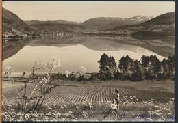 °°° 9230 - NORWAY - VANGSVATNET MOT VOSSEVANGEN - 1955 °°° - Norvegia