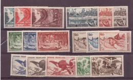 Guyane N°201 à 217** - Guyane Française (1886-1949)