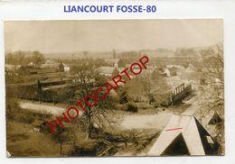 LIANCOURT FOSSE-CARTE PHOTO Allemande-Guerre 14-18-1 WK-France-80- - Other Municipalities