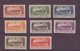 Guyane N°11 à 18** P.A - Guyane Française (1886-1949)