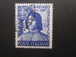 Italien Nr. 782 Gestempelt / Yvert 547 Used (C43) - 1946-.. République
