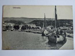 CIRQUENIZZA CRIKVENICA Dalmazia Vecchia Cartolina Barca Pesca Pescatori AK Croazia - Croazia