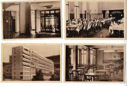 Sanatorium Albarine  à Hauteville Lompnes - Belley  Ain  - 4 Cartes Non écrites - Hauteville-Lompnes