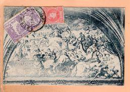 Cpa Carte Postale Ancienne -  Salamanca - Fresco De La Iglesia De Santo Domingo - Pintado Por Palomino - Salamanca