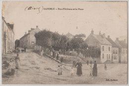 02 Gandelu 1915 Rue D'Orléans Et Place TB Animée éditeur Bailleux  430 Habitants En 1908 - France
