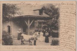 34 Lamalou Les Bains 1903 Usclade La Laiterie Suisse  Lait Gaufres TB Animée éditeur Raynaud N°27 - Lamalou Les Bains