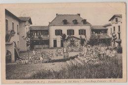 """64 Hendaye 1934 Croix Rouge """"Le Nid Marin"""" Colonie Preventotium TB Animée éditeur MD Delboy N°1040 - Hendaye"""