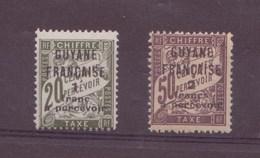 Guyane N°10-11** Taxe - Guyane Française (1886-1949)