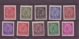 Guyane N°22 à 31** Taxe - French Guiana (1886-1949)