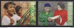 2011 UNO Wien Mi. 730-1 **MNH . Wirtschafts- Und Sozialrat Der Vereinten Nationen (ECOSOC): Bildungsziele. - Wien - Internationales Zentrum