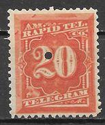Etats Unis N° 57 Télégraphe YVERT NEUF ** - Telegraph Stamps
