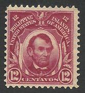 Philippines, 12 C. 1906, Sc # 246, Mi # 242, MH. - Philippines