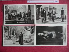 NANCY Théâtre De La Passion .  Jeanne D'Arc Le Lys De France Lot De 8 Cartes - Nancy