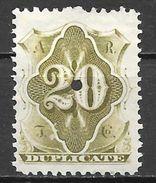 Etats Unis N° 67 Télégraphe YVERT NEUF * - Telegraph Stamps