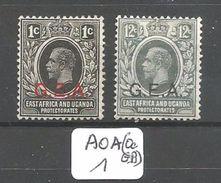AOA(Oc GB) AFRIQUE ORIENTALE ALLEMANDE OCCUPATION BRITANNIQUE  YT 1 (*) Et 5 * - Grande-Bretagne (ex-colonies & Protectorats)
