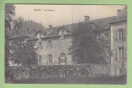 GORRE : Le Château. 2 Scans. Edition ? - France