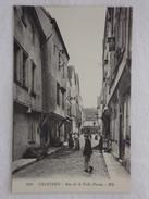 CHARTRES - Rue De La Poêle Percée - CPA- CP - Carte Postale - Chartres