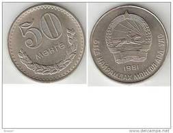 Mongolia 50 Mongo 1981 Km 33 Unc !!!!! - Mongolia